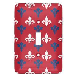 Patriotic Fleur de Lis Light Switch Covers (Personalized)
