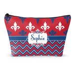 Patriotic Fleur de Lis Makeup Bags (Personalized)