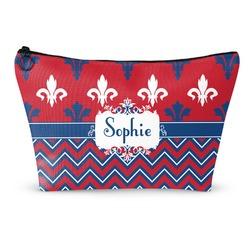 Patriotic Fleur de Lis Makeup Bags (Personalized)