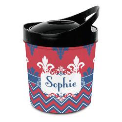 Patriotic Fleur de Lis Plastic Ice Bucket (Personalized)