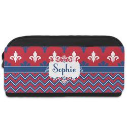 Patriotic Fleur de Lis Shoe Bag (Personalized)