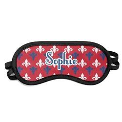 Patriotic Fleur de Lis Sleeping Eye Mask (Personalized)