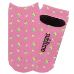 Summer Lemonade Adult Ankle Socks (Personalized)