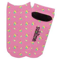 Summer Lemonade Adult Ankle Socks (Personalized)