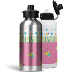 Summer Lemonade Water Bottles- Aluminum (Personalized)