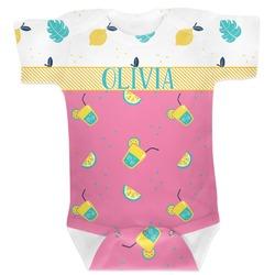 Summer Lemonade Baby Bodysuit (Personalized)