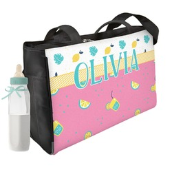 Summer Lemonade Diaper Bag (Personalized)