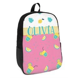 Summer Lemonade Kids Backpack (Personalized)