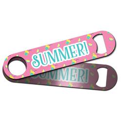 Summer Lemonade Bar Bottle Opener w/ Name or Text