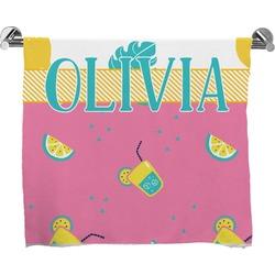 Summer Lemonade Full Print Bath Towel (Personalized)