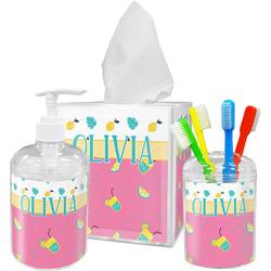 Summer Lemonade Bathroom Accessories Set (Personalized)