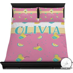 Summer Lemonade Duvet Cover Set (Personalized)