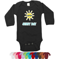 Summer Lemonade Bodysuit - Long Sleeves (Personalized)