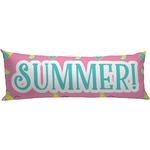 Summer Lemonade Body Pillow Case (Personalized)