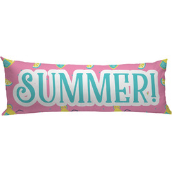 Summer Lemonade Body Pillow Case (Personalized)