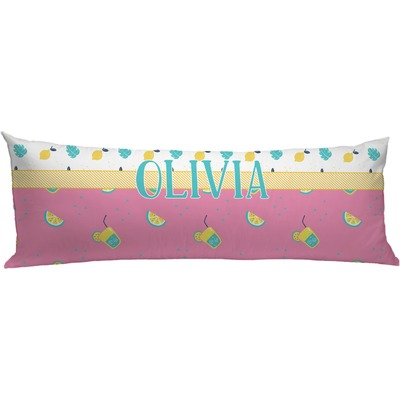 Summer Lemonade Body Pillow Case Personalized