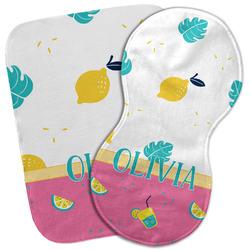 Summer Lemonade Burp Cloth (Personalized)