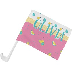 Summer Lemonade Car Flag (Personalized)