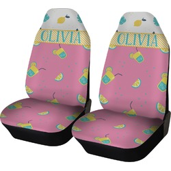 Summer Lemonade Car Seat Covers (Set of Two) (Personalized)