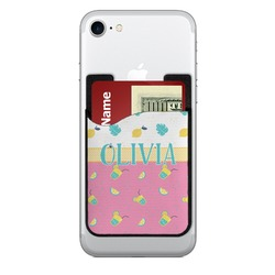 Summer Lemonade Cell Phone Credit Card Holder (Personalized)