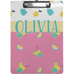 Summer Lemonade Clipboard (Personalized)