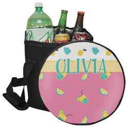 Summer Lemonade Collapsible Cooler & Seat (Personalized)