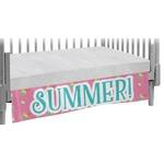 Summer Lemonade Crib Skirt (Personalized)