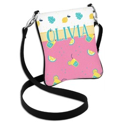 Summer Lemonade Cross Body Bag - 2 Sizes (Personalized)
