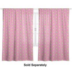 "Summer Lemonade Curtains - 40""x54"" Panels - Unlined (2 Panels Per Set) (Personalized)"