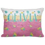 "Summer Lemonade Decorative Baby Pillowcase - 16""x12"" (Personalized)"