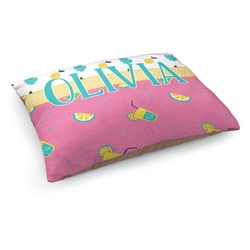 Summer Lemonade Dog Pillow Bed (Personalized)