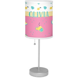 "Summer Lemonade 7"" Drum Lamp with Shade (Personalized)"