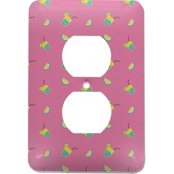 Summer Lemonade Electric Outlet Plate (Personalized)