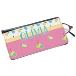 Summer Lemonade Genuine Leather Eyeglass Case (Personalized)