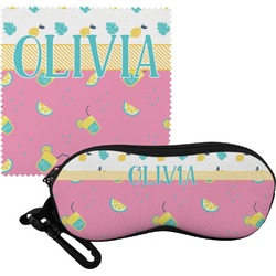 Summer Lemonade Eyeglass Case & Cloth (Personalized)