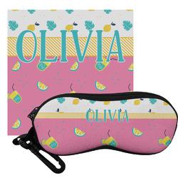 Summer Lemonade Eyeglass Case & Cloth (Personalized)
