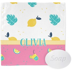 Summer Lemonade Wash Cloth (Personalized)