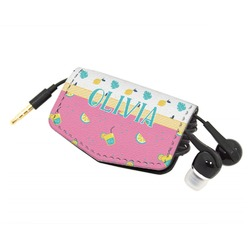 Summer Lemonade Genuine Leather Cord Wrap (Personalized)