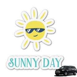 Summer Lemonade Graphic Car Decal (Personalized)