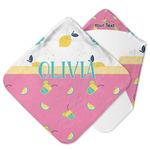 Summer Lemonade Hooded Baby Towel (Personalized)
