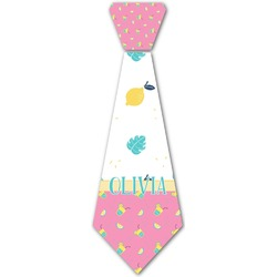 Summer Lemonade Iron On Tie (Personalized)