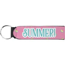Summer Lemonade Neoprene Keychain Fob (Personalized)