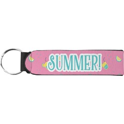 Summer Lemonade Keychain Fob (Personalized)
