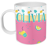 Summer Lemonade Plastic Kids Mug (Personalized)