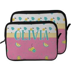 Summer Lemonade Laptop Sleeve / Case (Personalized)