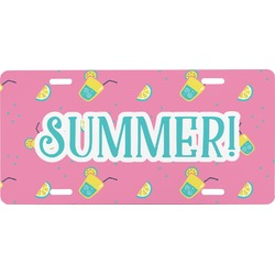 Summer Lemonade Front License Plate (Personalized)