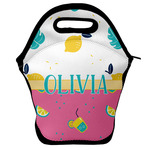 Summer Lemonade Lunch Bag w/ Name or Text