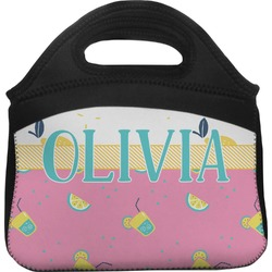 Summer Lemonade Lunch Tote (Personalized)