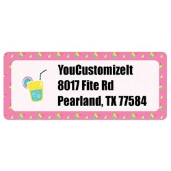 Summer Lemonade Return Address Labels (Personalized)