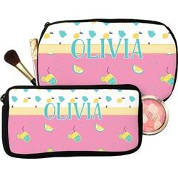 Summer Lemonade Makeup / Cosmetic Bag (Personalized)